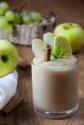 Mousse di mele e uva